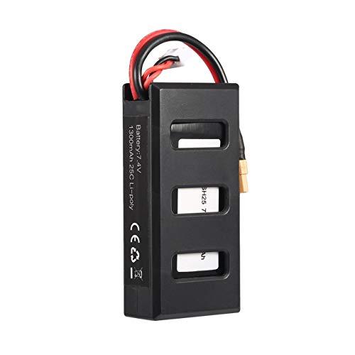 - Liobaba MJX B6 7.4V 1300mAh 25C Li-Poly RC Battery 903062 with XT30 Plug for RC Drone