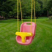 Gorilla Playsets Safe and Sturdy High Back Infant Swing, Pin