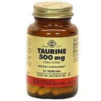 Solgar, Taurine 500 capsules végétales 250 mg