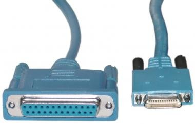 26 Pin Male / DB25 Female, (CAB-SS-232FC) Cisco Smart Serial Cable, 10 ft ()
