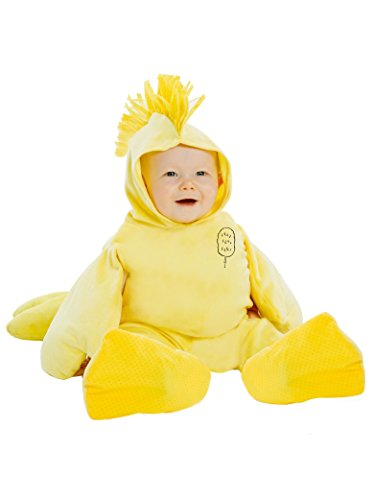 Palamon Baby's Peanuts Woodstock Costume, Yellow, 12 18