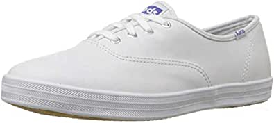 Keds Womens Champion Original Leather Sneaker, White Leather, 4 M US