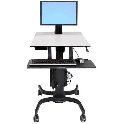 Ergotron WorkFit-C Single LD Sit-Stand Workstation