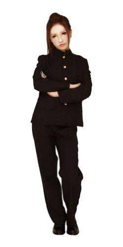 Clearstone Women's CO-CO Gakuran School Uniform Costume One Size Black