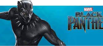 AIT Corporation Marvel Black Panther Slide Sandals Plus Tote Bag