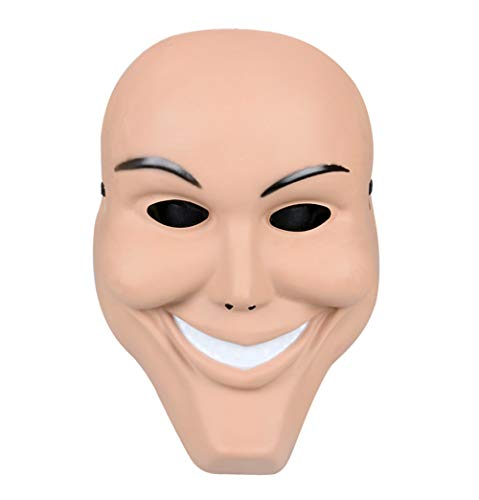 Gmasking PVC James Horror Anarchy Men Mask Halloween Party Props ()