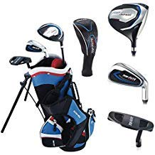 Top Flite Jr. Young Boys Compete Golf Set - Age 2 to 5 Height 45'' and Under - RH/LH (Height 45
