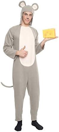 Car&Gus Disfraz de Ratón Gris para Hombre: Amazon.es: Juguetes y ...