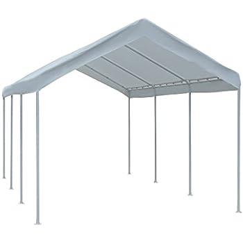 Abba Patio Carport 20' x 10' Outdoor All-Purpose Canopy Car Storage Shelter