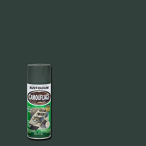 Rust-Oleum 1918830 1918-830 Camouflage Spray Paint, 12-Ounce, Earth Brown