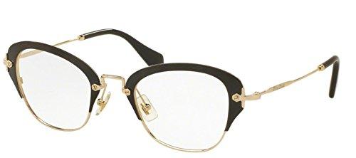 Miu Miu OMU 53OV Women Optical Frame (1AB1O1) - Miu Optical Frames Miu