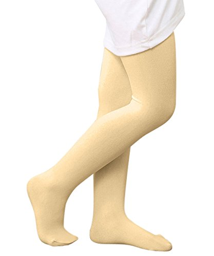 Azue Girls Healthy Stretchy Leggings Footed Cotton Dress Tights Fun Colorful Pantyhose Beige - Free Sexy Movies Russian