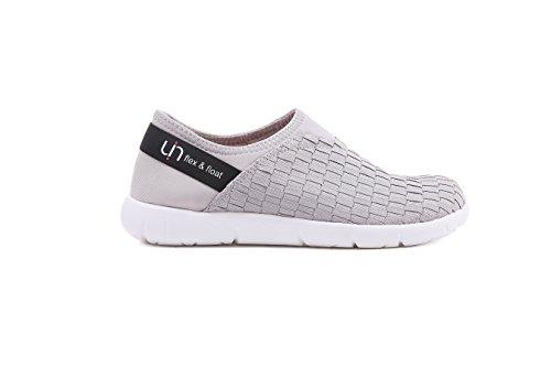 UIN Womens Verona Woven Travel Walking Shoes Grey yGGdOM
