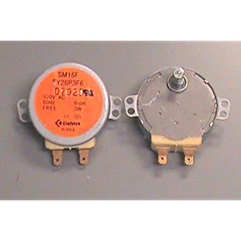 Amazon.com: 120 V Microondas Turntable 6 RPM del motor ...