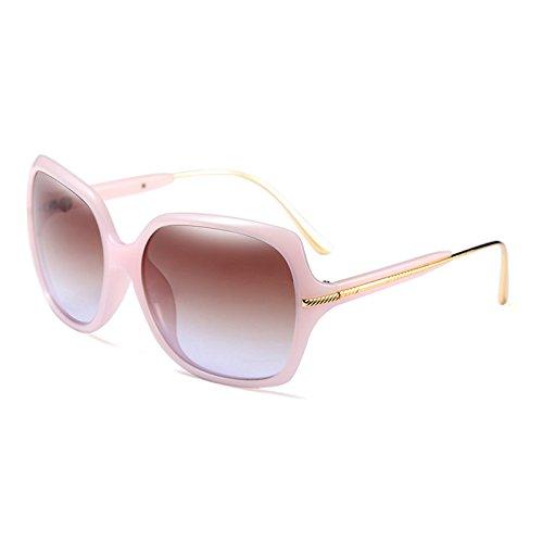 UV400 Bastidor metálico Gafas Populares Sol de Burenqi de de Sol Moda E Diseñador de Gafas Mujer E Tonos Marca 8tz0waq
