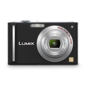 Panasonic Lumix DMC-FX55K 8.1MP Digital Camera with 3.6x Wide Angle MEGA Optical Image Stabilized Zoom (Black)