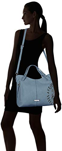 X w Para L Mujer Refresh Azul Cm Shopper H jeans 41x30x12 83197 wqx47