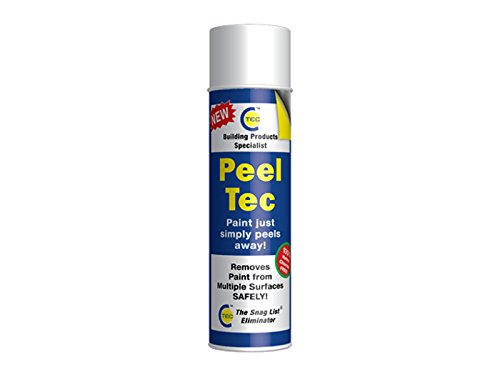 CT1 PEELTEC Peel Tec Paint Remover/Stripper, Transparent, 500 ml