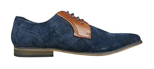 Smart Lace Lambretta Shoes Mens Navy Casual Sol Up qUx46B