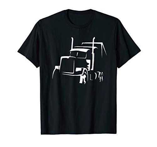 18 Wheeler Semi Truck Shirt for Truck Drivers Who Love OTR