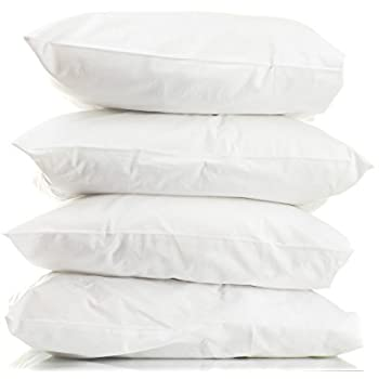 Amazon Com Superior White Down Alternative Pillow 4 Pack