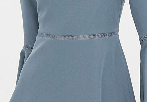 Cóctel Fino De Vestidos Ocasión Novia Cualquier Para Fiesta Mujer Vestido Azul BqCYwaxU