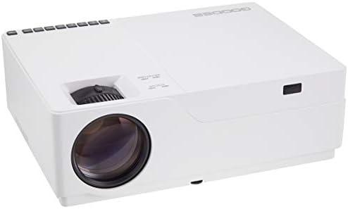 【在庫一掃】GooDee プロジェクター 1920*1080リアル解像度 6000lm LED 300インチ大画面 高解像度 4KフルHD対応 高コントラスト HIFIスピーカー内蔵 ホームプロジェクター ビジネス用可能 … M18