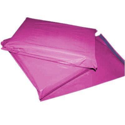 100 bolsas de correo postales de color rosa, grandes y fuertes, de 30,5 x 40,6 cm Globe Packaging