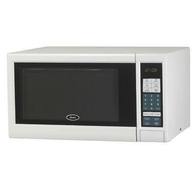 Oster DHOGM41101 Brentwood 1.1 cu. ft. Digital Microwave Oven, CF, White