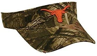 Mossy Oak Texas Longhorns Officially Licensed Camo Visor