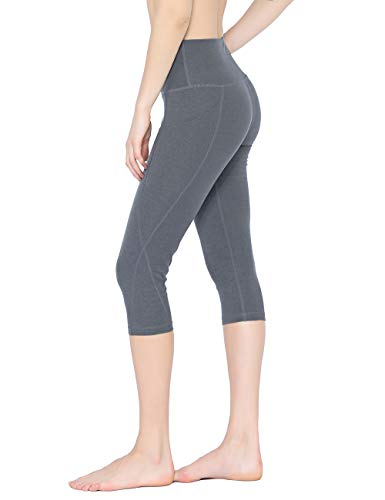Womens Tummy Control Yoga Leggings with Hidden Pocket High Waist Colorful Athletic Pants for Workout