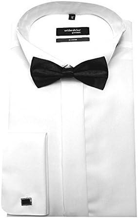 Seidensticker - Camisa de vestir - Básico - cuello mao ...