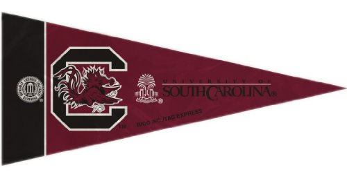 Rico NCAA South Carolina 8 Pc Mini Pennant Pack Sports Fan Home Decor, Multicolor, One Size by Rico
