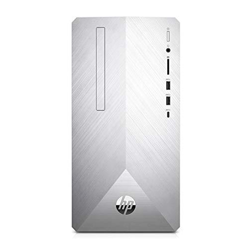 HP Pavilion 590-p0024na Mini Desktop PC Intel Pentium Gold G5400, 4GB RAM, 1TB HDD, DVDRW, Windows 10 Home – 4CK76EA#ABU