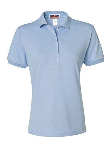 light blue polo shirt - 6