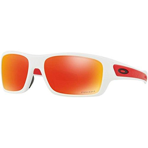 Oakley Youth Turbine XS Sunglasses,OS,Polished White ()