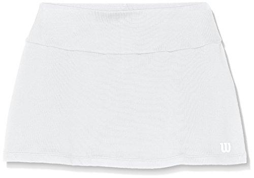 Wilson Girls Core 11 Tennis Skirt (Wilson White Skirt)