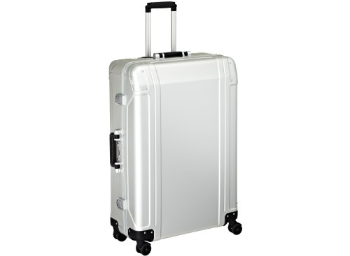 zero-halliburton-geo-aluminum-30-inch-4-wheel-spinner-travel-case-silver-one-size