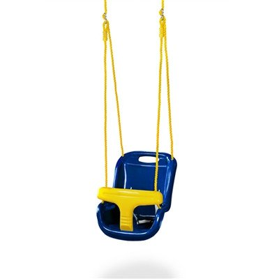 High Back Infant Swing Color: Blue