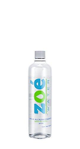 Zoé Water Agua Alcalina, 500 ml