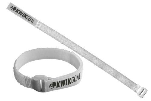 Kwik Goal Net Attachment Straps (Pack of 30), (White Goal Net)