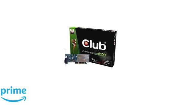CLUB3D Nvidia GeForce 4 MX4000 128MB DDR GDDR: Amazon.es ...