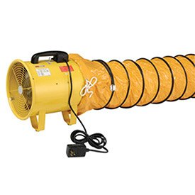 "Portable Ventilation 12"" Fan with 32' Flexible Ducting ..."