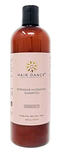 Hydrating Grapefruit Shampoo, Moisturizing Nourishing and Ge