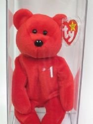 - TY Beanie Baby #1 Bear (EXTREMELY RARE)