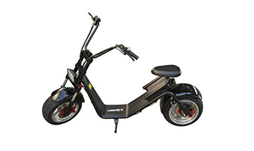 eDrift UH-E51 City Scooter - Eco-Friendly Electric Seated Scooter for Commuting and Recreation - 40 Mile Range, 30 MPH Top Speed