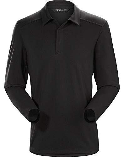 Arc'teryx Captive LS Polo Men's (Black / Black, -