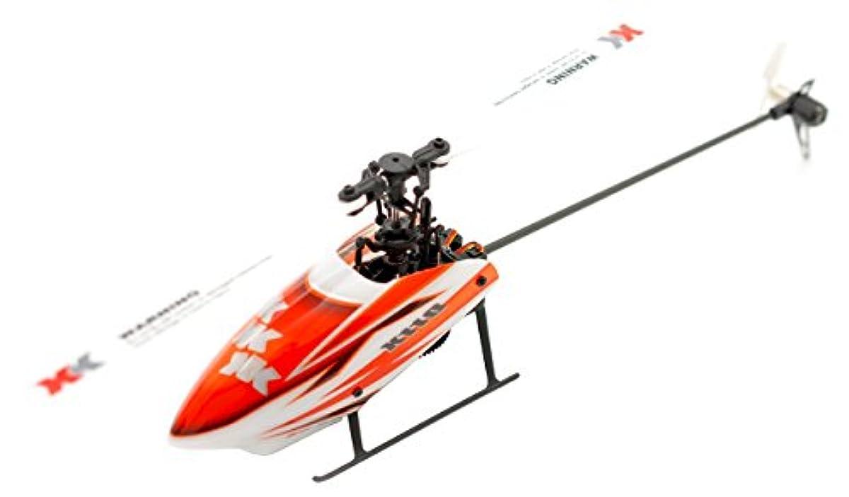 [해외] 하이텍 XK제품 6CH 브러시 레스 모터 3D6G시스템 헬리콥터 K110 RTF키트