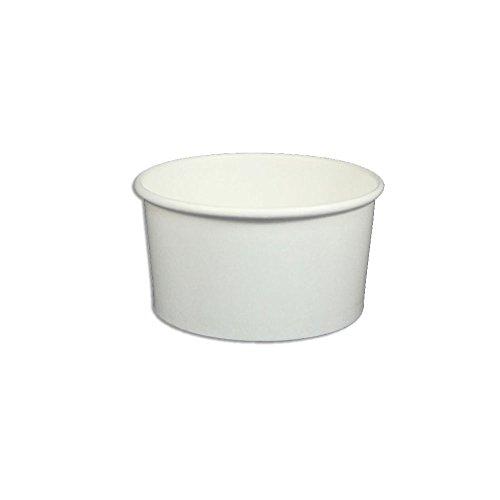 ice cream cups white - 5