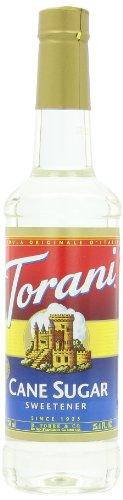 Torani Sweetener Syrup, Cane Sugar, 25.4 Ounce Sugar Sweetener